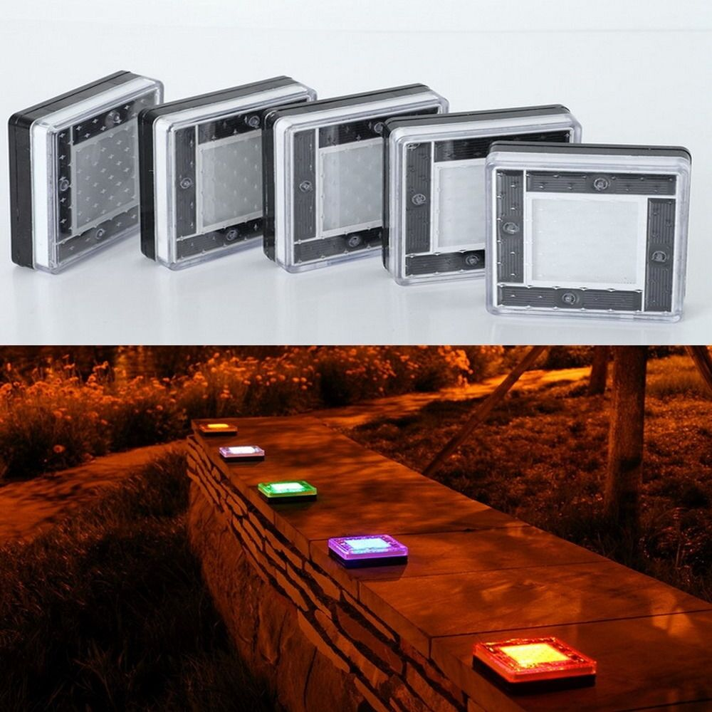 Outdoor Patio Brick Lights: NEW Super Bright Solar 5 LED In Ground Lamp Street Outdoor