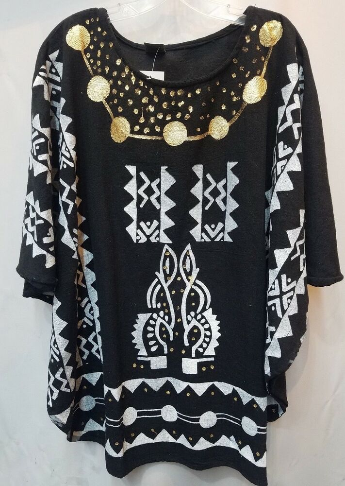 African Shirt Women Dashiki White Yellow Orange poncho Men ...