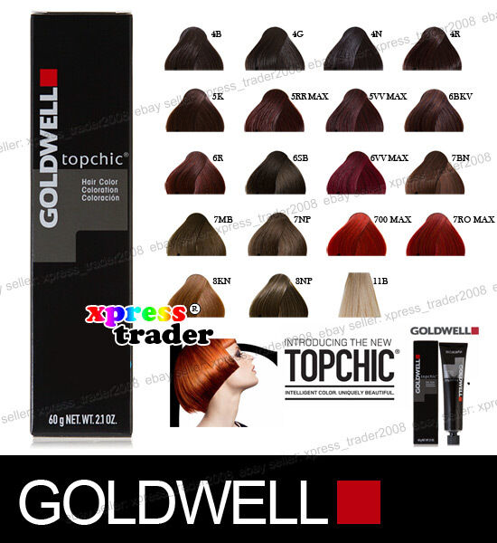 Goldwell Topchic Permanent Colour Hair Color Dye 60ml Ebay
