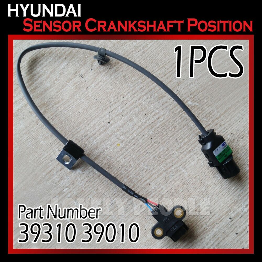 New (3931039010) Crankshaft Position Sensor For Hyundai 01