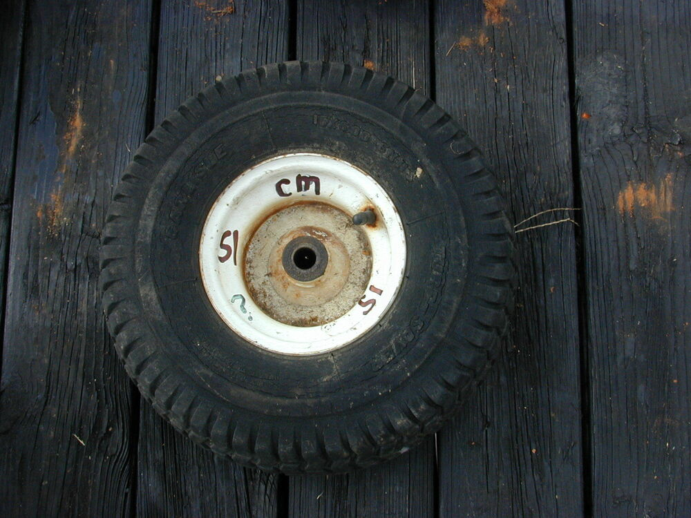 Sears Craftsman Tractor Tires : Sears craftsman riding lawn mower front tire wheel