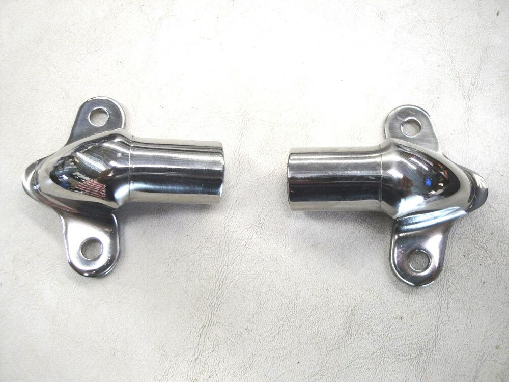 48 49 50 51 52 53 54 56 Ford Truck Tailgate Hinge Stainless Pair New