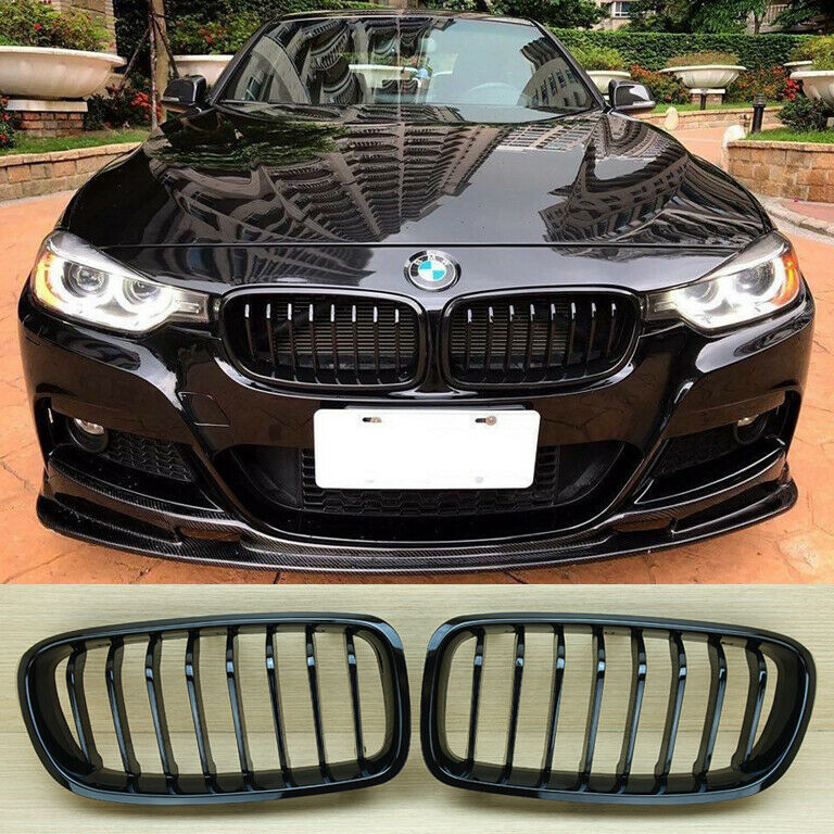 Glossy/Piano Black BMW F30 F31 Front Grille Grill 328i