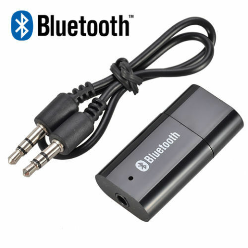 Car Bluetooth Aux Receiver Cable Adapter For Vw Rcd210: USB Bluetooth Music Receiver Audio Cable Fr Car AUX IN MP3