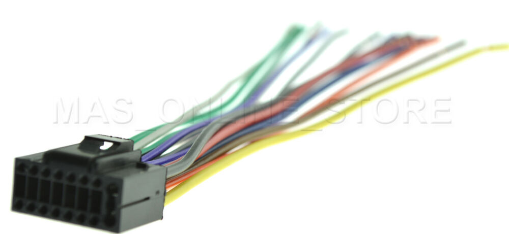 s l1000 wire harness for jvc kd s29 kds29 *pay today ships today* ebay  at bayanpartner.co
