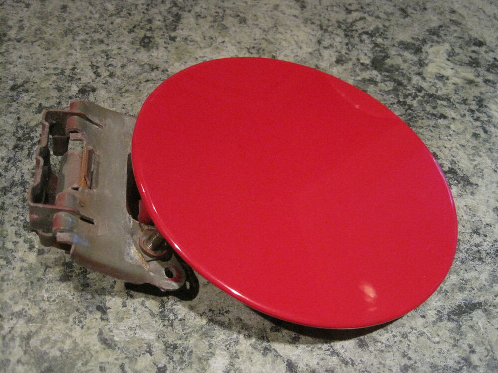 1998 Jimmy Envoy Fuel Door Lid Gas Tank Cover Cap Oem Red