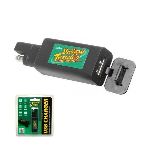 ... TENDER QUICK DISCONNECT PLUG WITH USB CHARGER MOTORCYCLE CAR | eBay