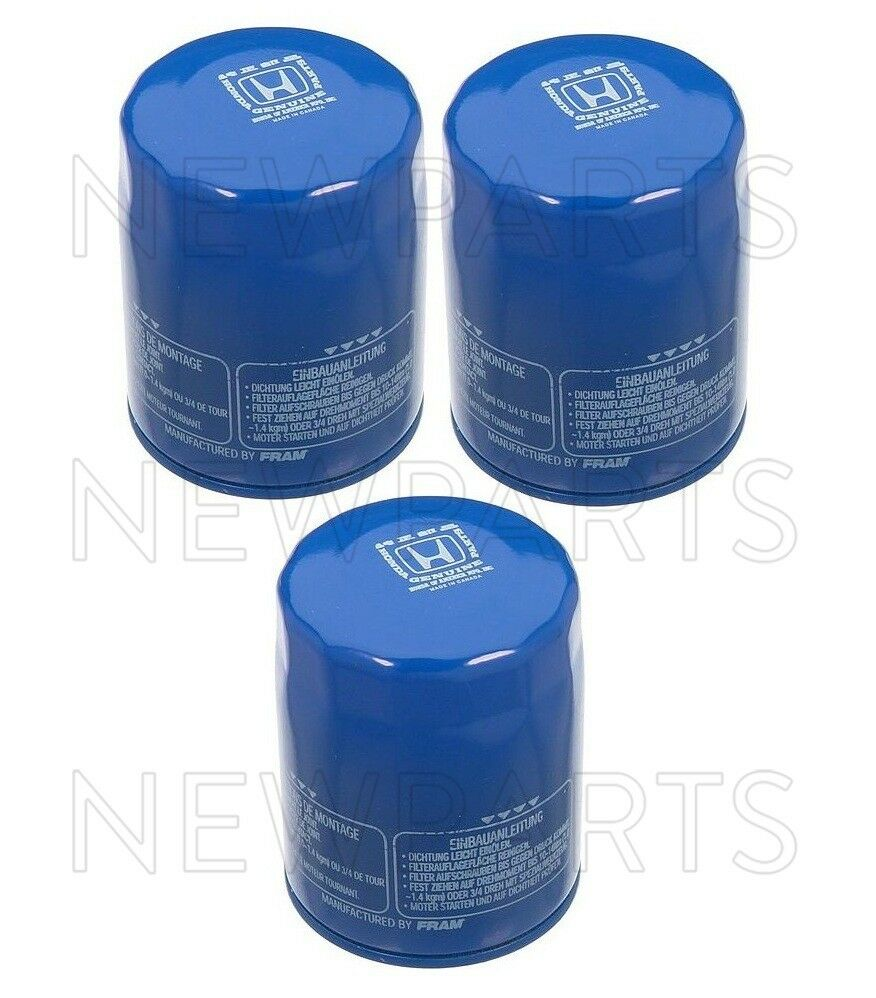 Genuine Honda Oil Filter 3 Pack