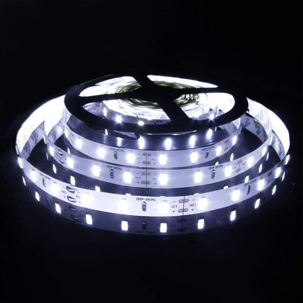 5m 300 led strip light 3528 5050 5630 smd 12v led flexible strip lighting ebay. Black Bedroom Furniture Sets. Home Design Ideas