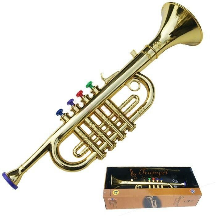 Toy Musical Horns : Mini musical instrument toy gift simulation horn trumpet