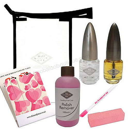 Bio Sculpture Gel Nails Aftercare Kit Official Product 8
