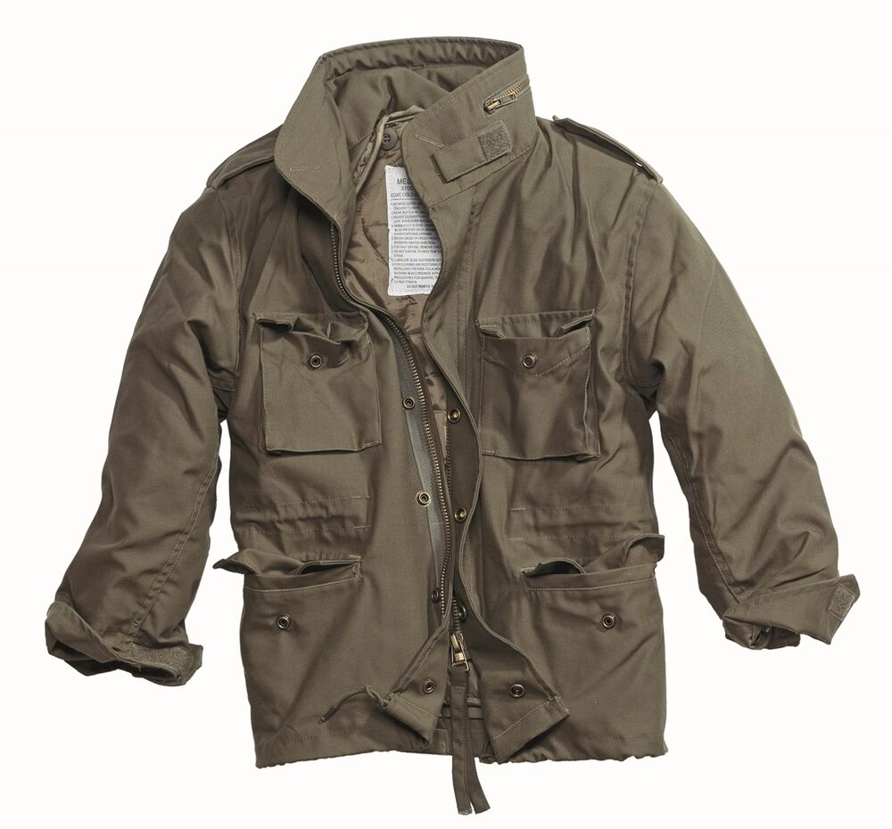 M65 COMBAT FIELD JACKET MENS VINTAGE TYPE MILITARY ARMY ...