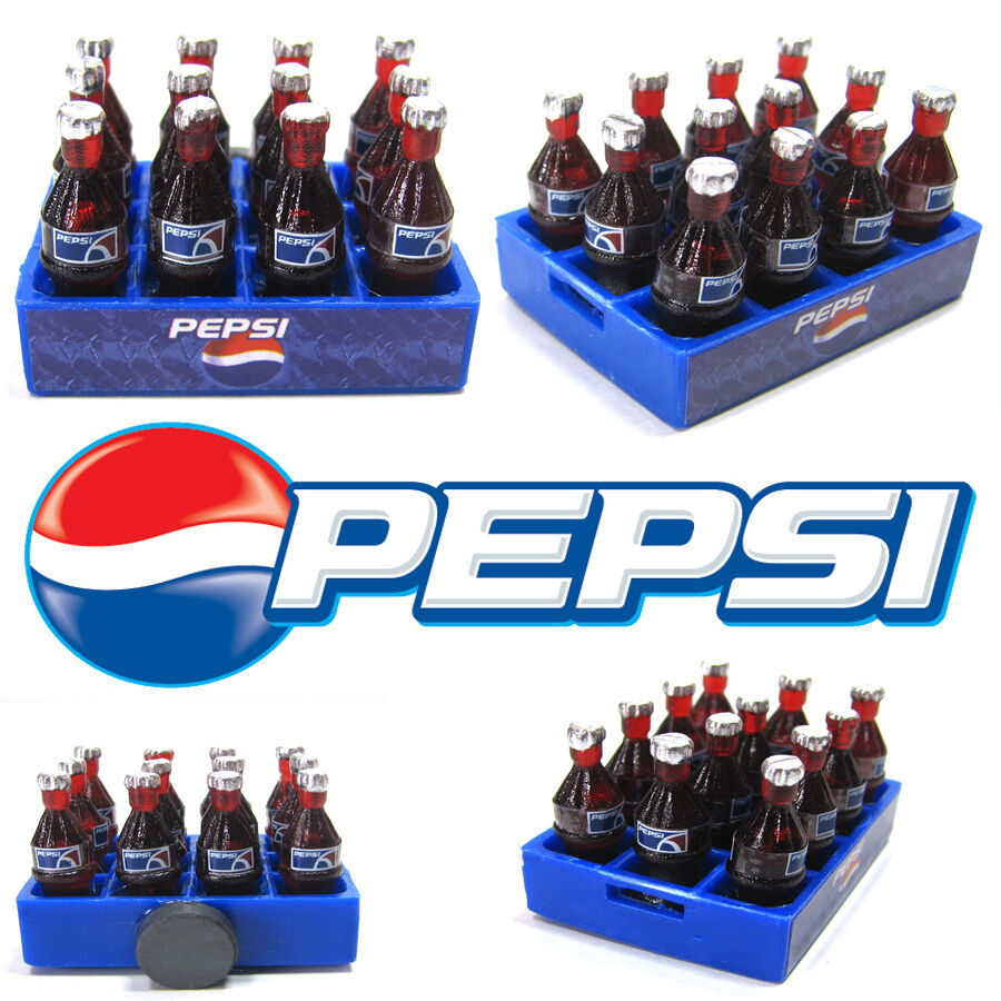 Pepsi 3D Miniature Advertising Cute Magnets Dollhouse