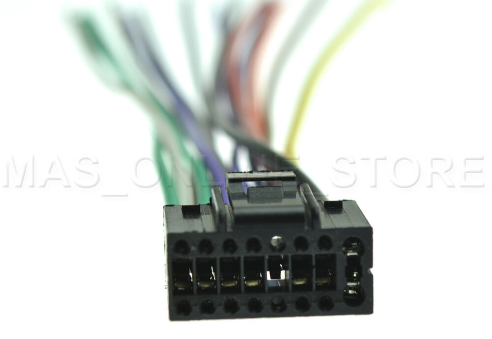 wire harness for jvc kd x250bt kdx250bt pay today ships. Black Bedroom Furniture Sets. Home Design Ideas