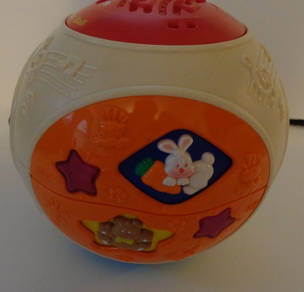 Vtech Move Amp Crawl Electronic Baby Ball Toy Music Lights