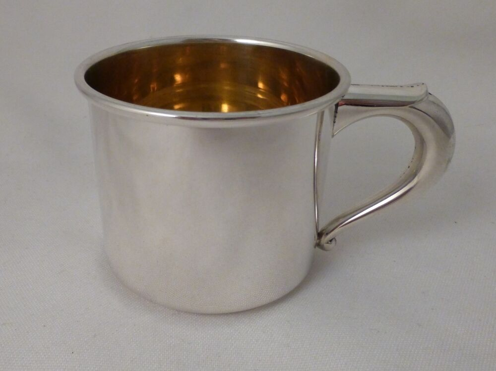 Web 54 Sterling Baby Cup 2 1 2 Quot Ebay