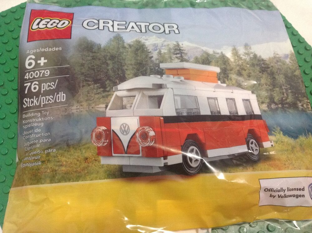 lego vw camper bus 1962 volkswagen mini van 40079 replica. Black Bedroom Furniture Sets. Home Design Ideas