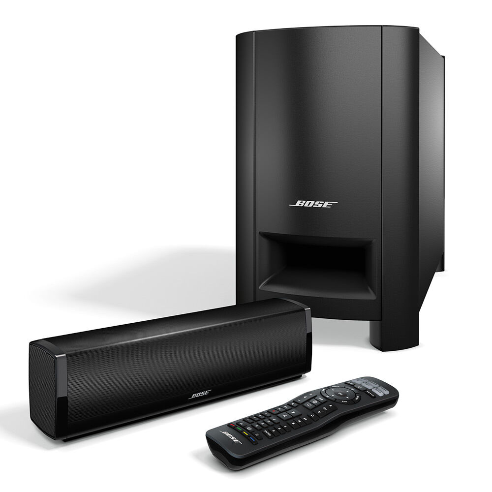bose cinemate 15 home theater speaker system black ebay. Black Bedroom Furniture Sets. Home Design Ideas