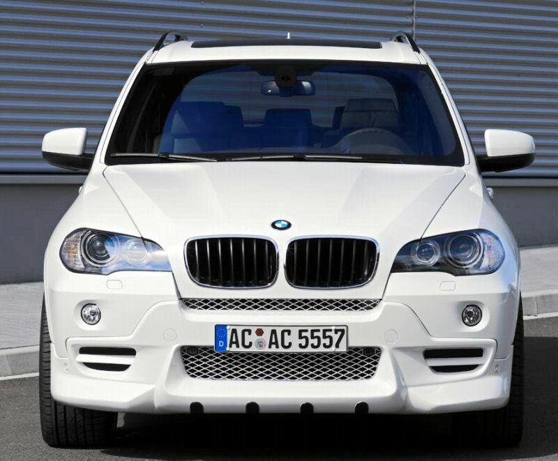 Side Window Deflectors >> BMW E70 X5 2007-2010 AC Schnitzer Brand OEM Genuine Front ...