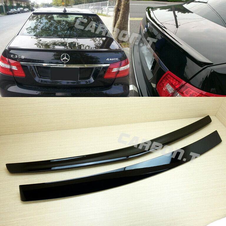 Painted mercedes benz w212 sedan oe rear roof amg style for Mercedes benz e350 parts accessories