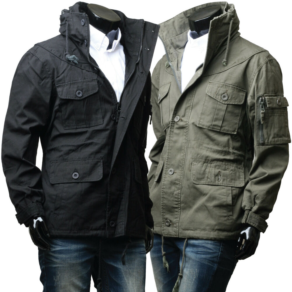 Military jackets from Old Navy will compliment many different styles. Pair them with a tight vintage graphic tee and skinny jeans for a hip look, perfect for men and women at casual social events, like concerts, happy hour, or a night at the drive-in.