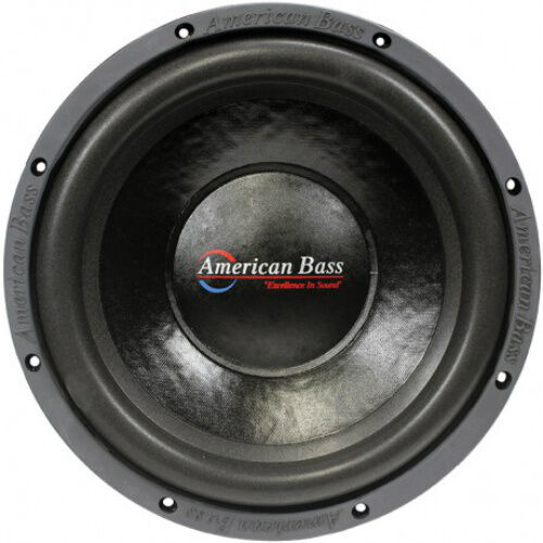 "NEW AB 10"" DVC Subwoofer Speaker.Dual Voice Coil 4 Ohm"