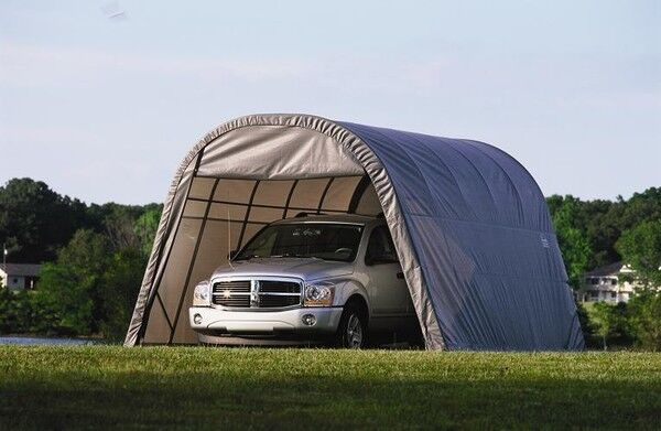 ShelterLogic 13x20x10 Truck Shelter Portable Garage Steel