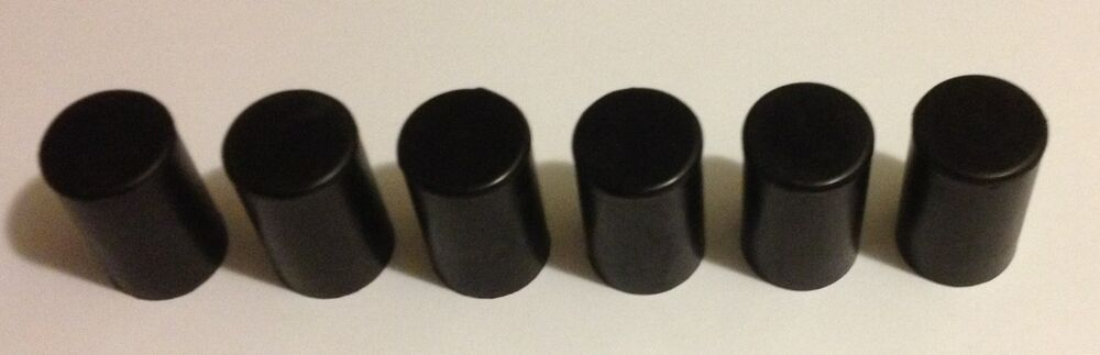 Water pump heater core rubber hose caps blockoff plugs