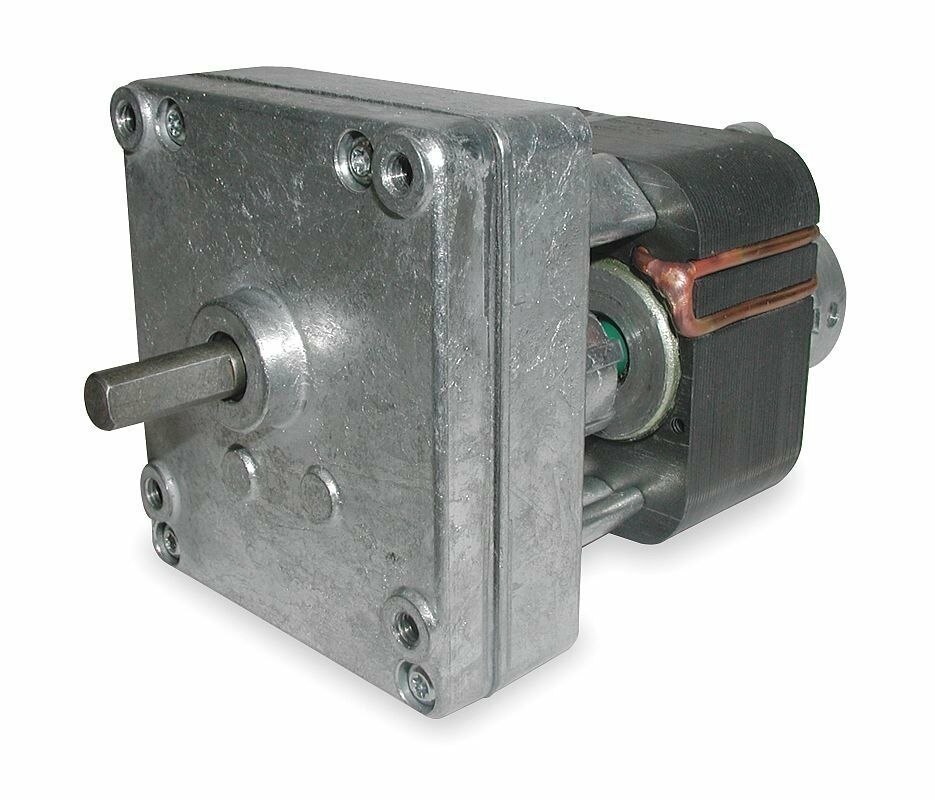 dayton model 1mbf5 gear motor 6 6 rpm 1 229 hp 115v old