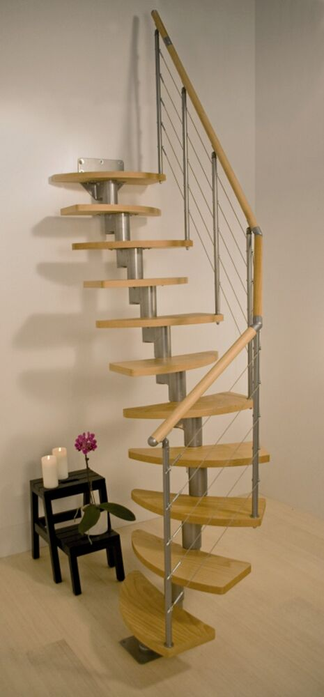 dolle rome space saver spiral loft staircase in stock