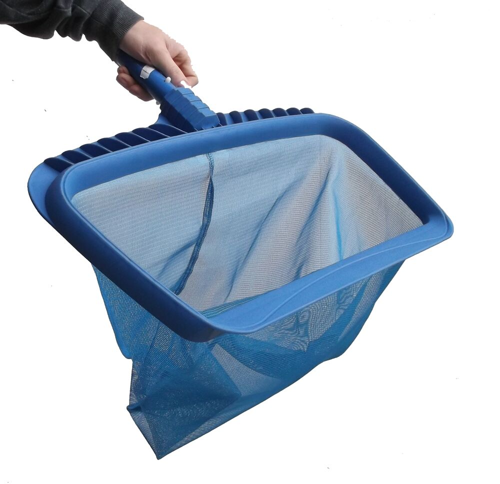 Swimming Pool Super Deep Leaf Net Rake Pools Spas Skimmer