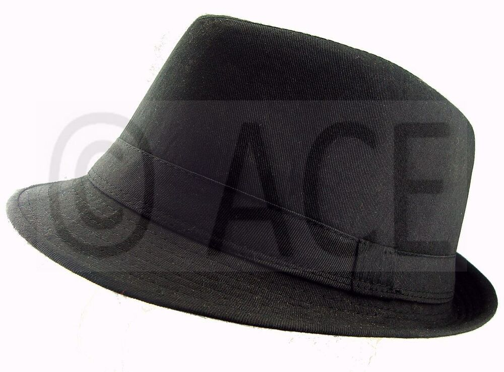 unisex mens womens fedora hats costume gangster
