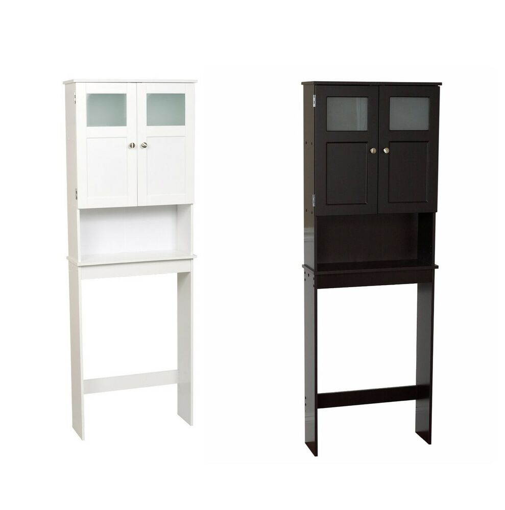 Http Www Ebay Com Itm New Modern Over The Toilet Wood Space Saver Bathroom Storage Cabinet Shelf Linen 151430346532