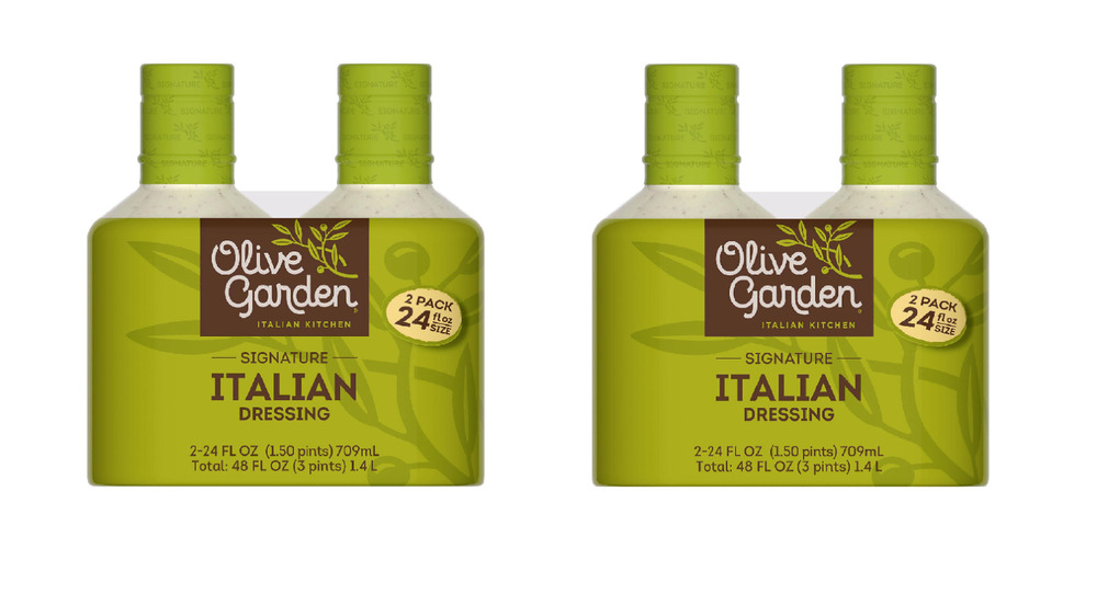 Lot Of 2 Olive Garden Signature Italian Salad Dressing Ebay