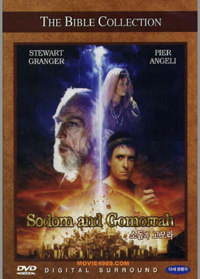 The Bible Collection #23 Sodom And Gomorrah (1962) DVD NEW ...