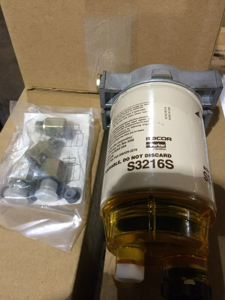 RACOR FILTER 130RT 16S S3216S Fuel Filter Water Separator