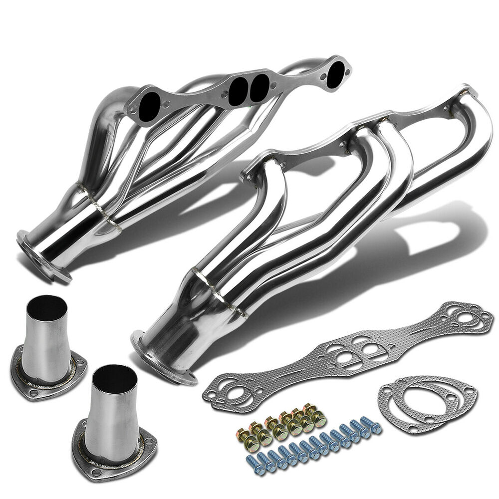 STAINLESS CLIPSTER HEADER MANIFOLD/EXHAUST FOR BEL AIR
