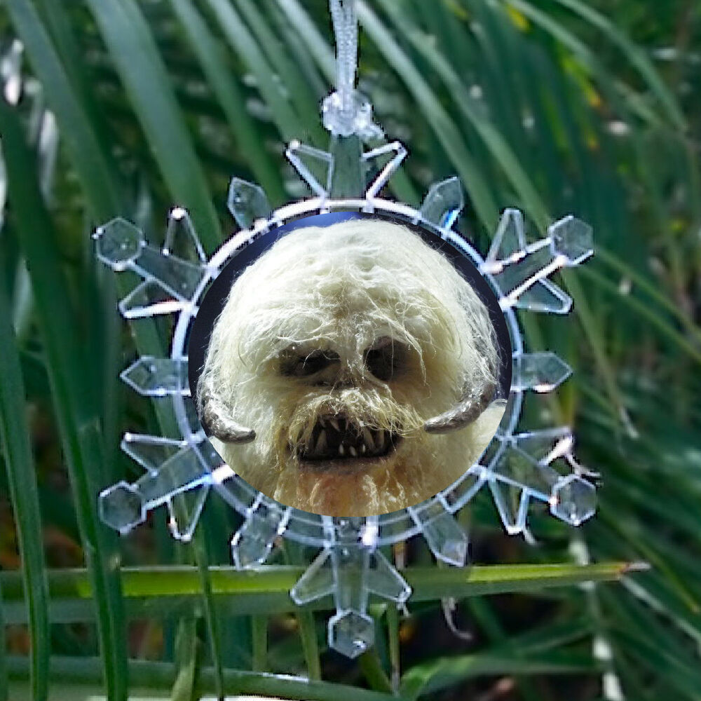 Star Wars Hoth Wampa Snowflake Blinking Light Holiday ...