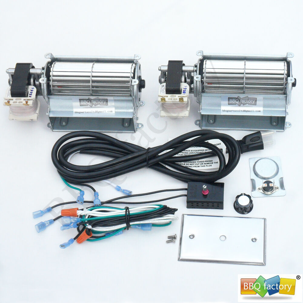 universal upgraded blower fan kit for wood gas burning