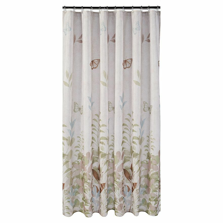 New Saturday Knight Bathroom Fabric Shower Curtain Fluttering ...