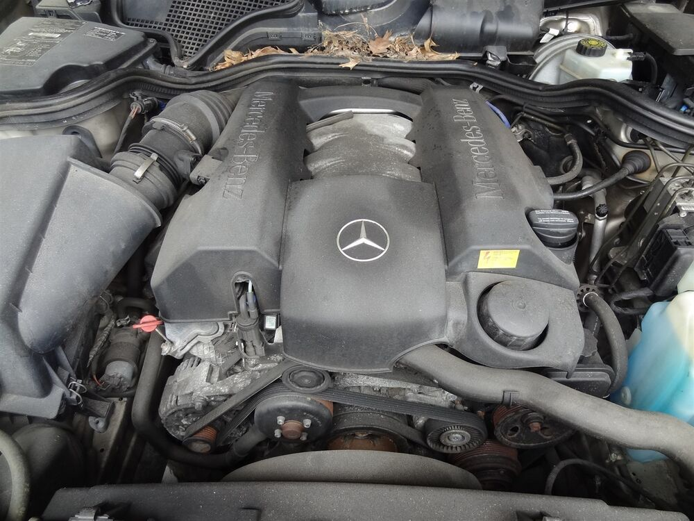Engine 2000 mercedes benz e320 3 2l motor rwd with 69 774 for Ebay motors mercedes benz