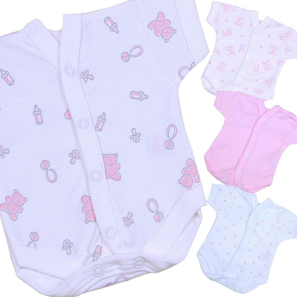 BabyPrem Preemie Tiny Girls Baby Clothes e Piece