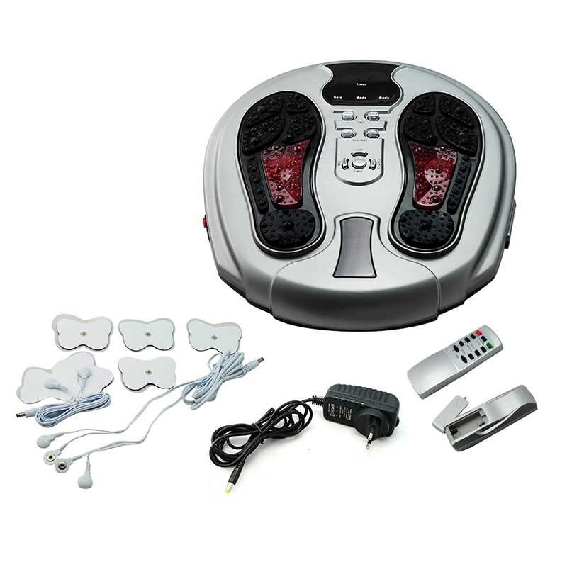 Electromagnetic wave pulse circulation foot massager reflexology