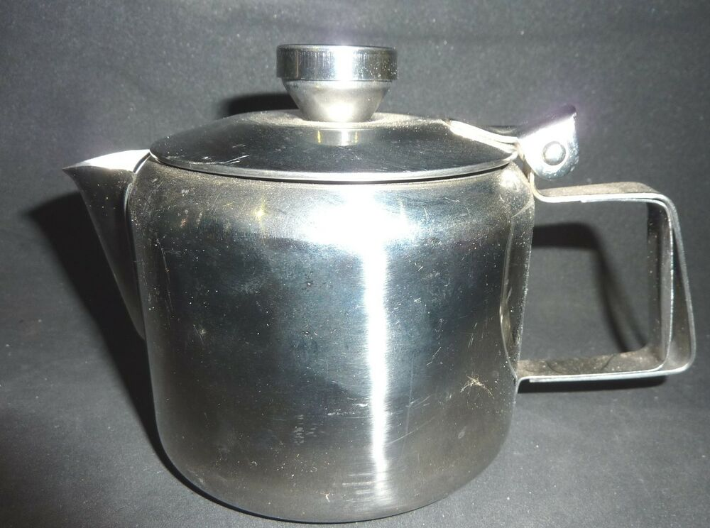 Stainless steel teapot tea pot 1 2 cups strainer stay - Cup stainless steel teapot ...