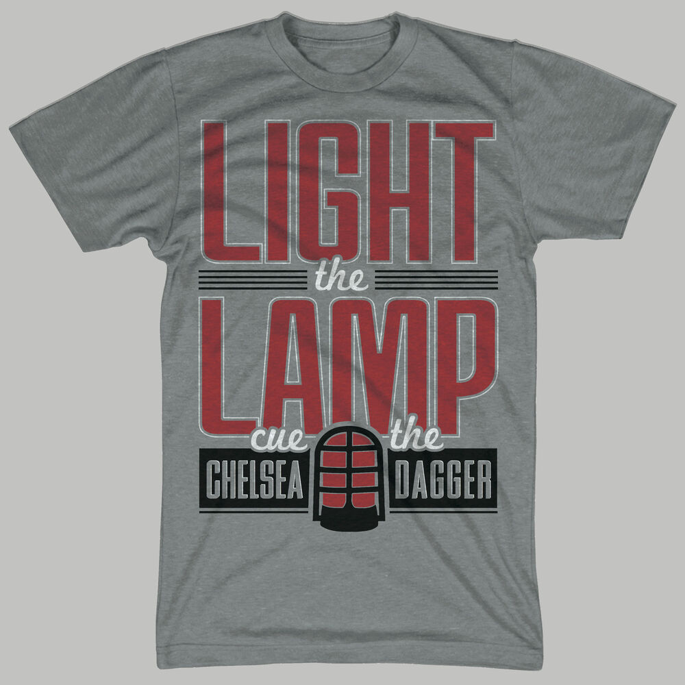 Chicago blackhawks shirt cute vintage light the lamp cue for Vintage blackhawks t shirt