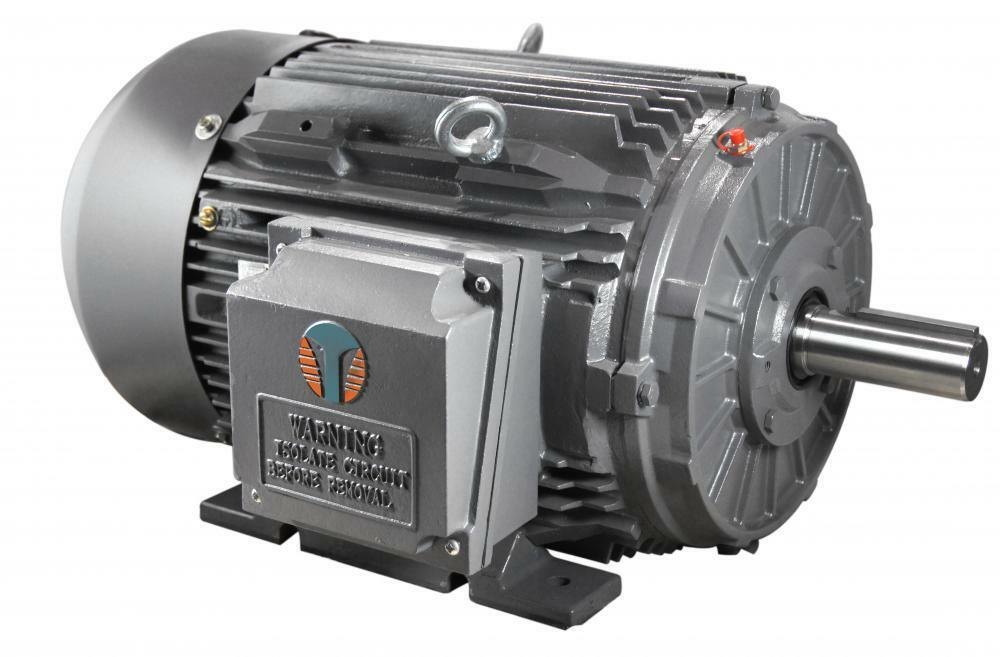 1 5 hp electric motor 3600 rpm 143t 3yr warranty ebay for One horsepower electric motor