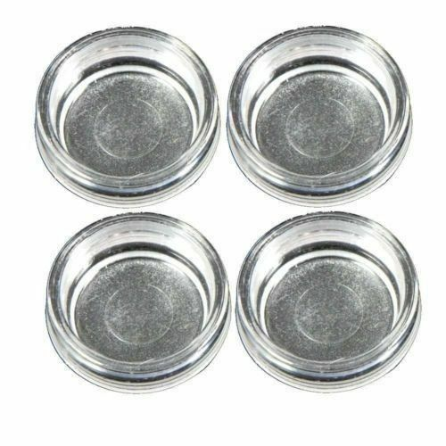 Strong plastic clear castor cups floor carpet furniture for How strong is acrylic glass
