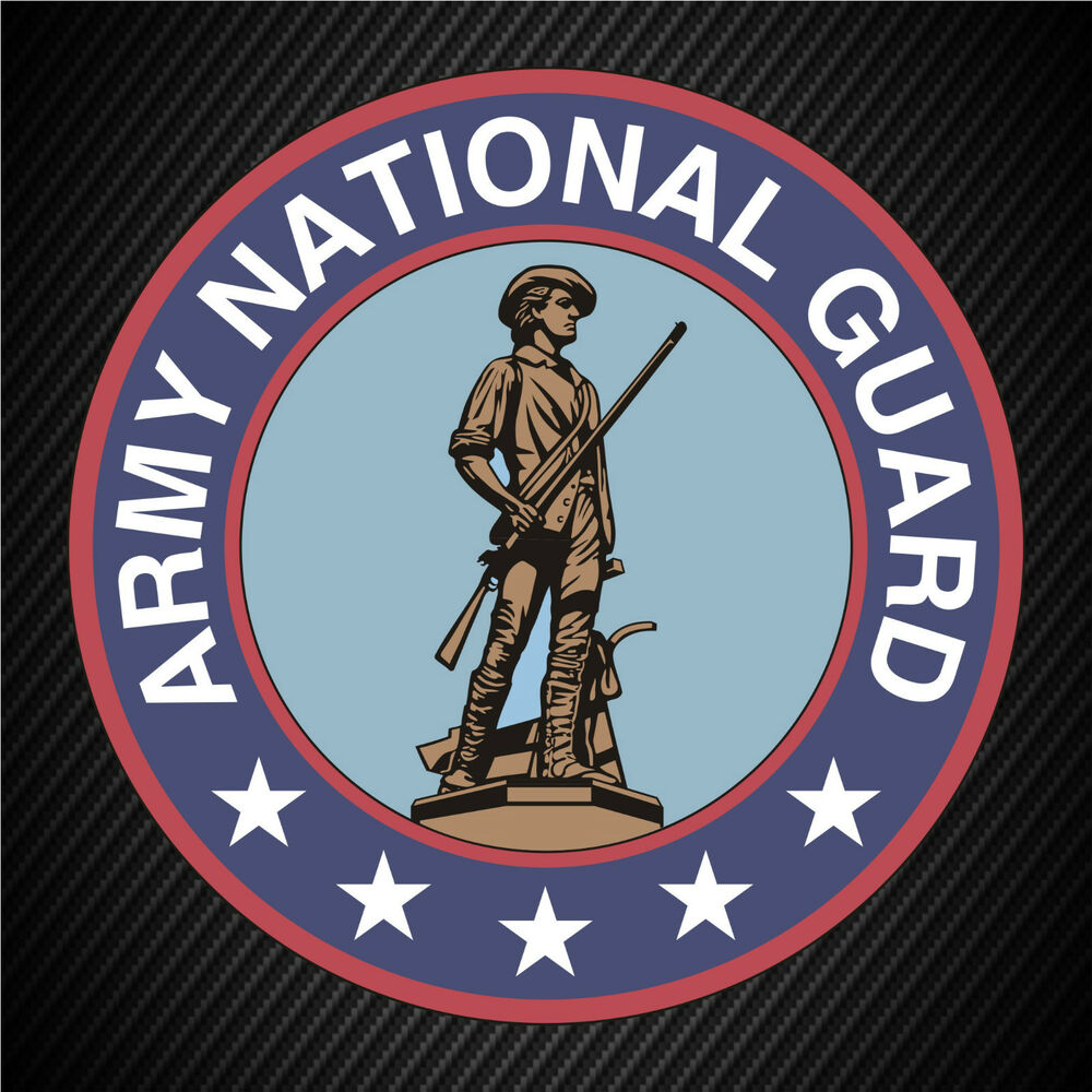 Us Army National Guard Seal Insignia Patch Vinyl Graphics