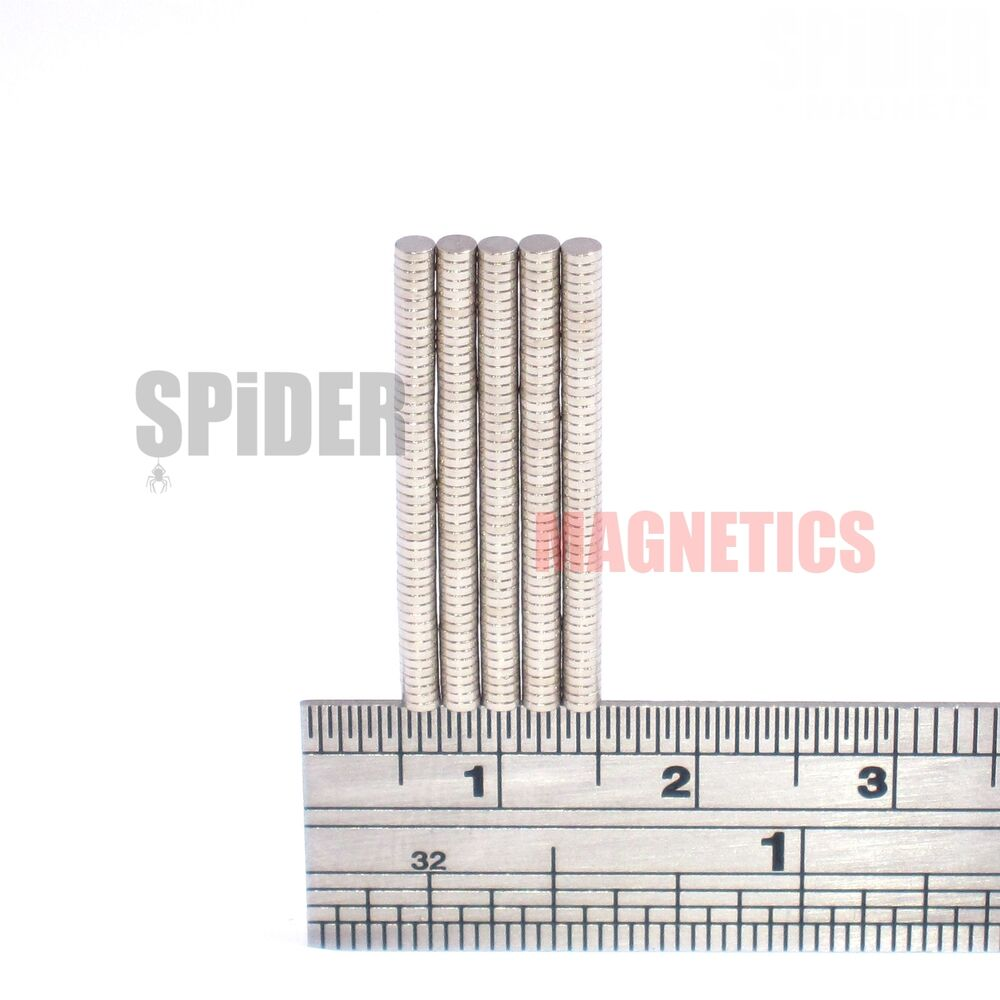 Tiny magnets 2x0 5 mm strong n52 small thin neodymium for Thin magnets for crafts