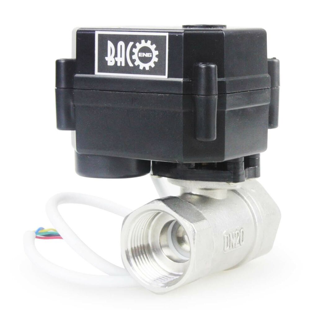 1 2 to 1 dc12v ss304 motorized ball valve electrical for 1 motorized ball valve